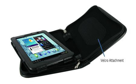rooCASE - Executive Portfolio Leather Case Cover for Samsung GALAXY Tab 2 7.0 / GALAXY Tab 7.0 Plus - Black