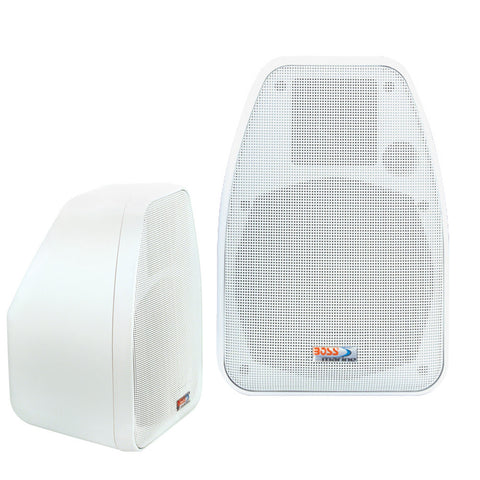Boss Audio MR30 2-Way Marine Box Speakers - (Pair) White