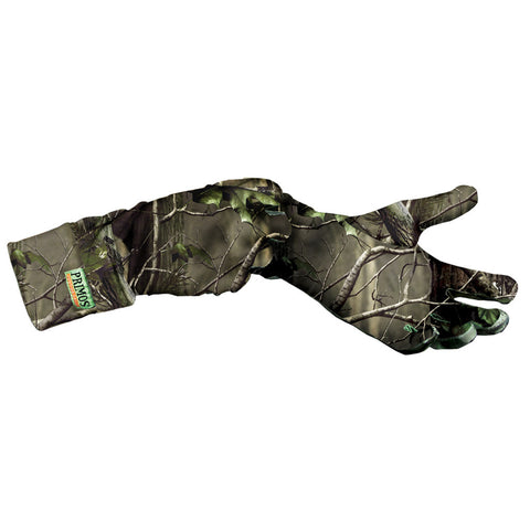 Primos Stretch Fit Gloves Realtree AP Green