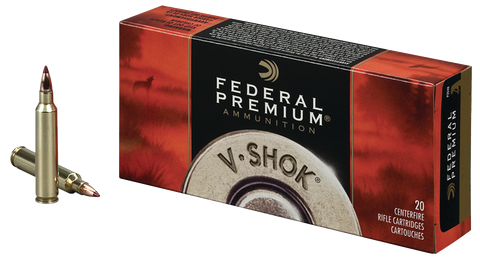 Federal P220B V-Shok 220 Swift 40 GR Nosler Ballistic Tip 20 Bx/ 10 Cs
