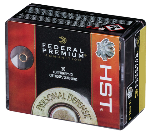Federal P38HST1S Personal Defense HST Micro 38 Special +P 130 GR HST JHP 20 Bx/ 10 Cs