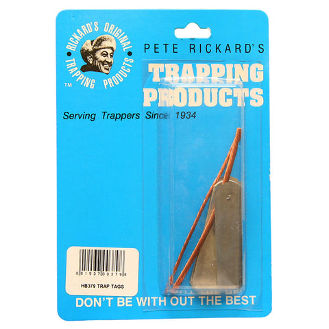 Rickards Zinc Trap Tags 2 in. 25 pk.
