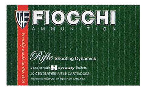 Fiocchi 223B Shooting Dynamics 223 Remington/5.56 NATO 55 GR Pointed Soft Point 20 Bx/ 10 Cs