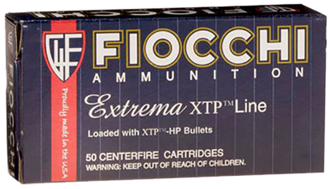 Fiocchi 38XTPP25 Extrema 38 Special +P 125GR  XTP HP 25Box/20Case