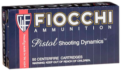 Fiocchi 9AP Shooting Dynamics 9mm 115 GR FMJ 50 Bx/ 20 Cs