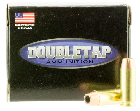 DoubleTap Ammunition 10MM135CE DT 10mm Automatic 135 GR Jacketed Hollow Point 20 Bx/ 50 Cs