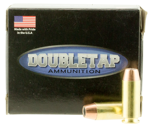 DoubleTap Ammunition 10MM230EQ DT Defense 10mm Automatic 230 GR JHP/Hard Cast 20 Bx/ 50 Cs