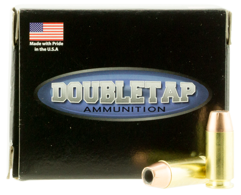 DoubleTap Ammunition 40135CE DT Defense 40 S&W 135 GR Jacketed Hollow Point 20 Bx/ 50 Cs