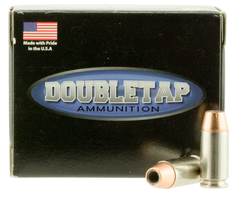 DoubleTap Ammunition 40180CE DT Defense 40 S&W 180 GR Jacketed Hollow Point 20 Bx/ 50 Cs