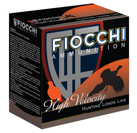 "Fiocchi 20HV5 Shooting Dynamics High Velocity 20 Gauge 2.75"" 1 oz 5 Shot 25 Bx/ 10 Cs"