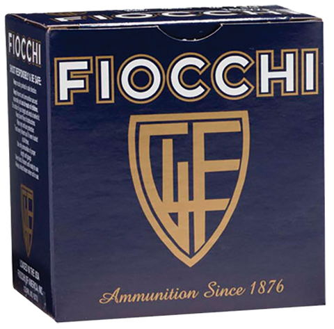 "Fiocchi 28HV6 High Velocity Shotshell 28 Gauge 2.75"" 3/4 oz 6 Shot 25 Bx/ 10 - 250 Rounds"
