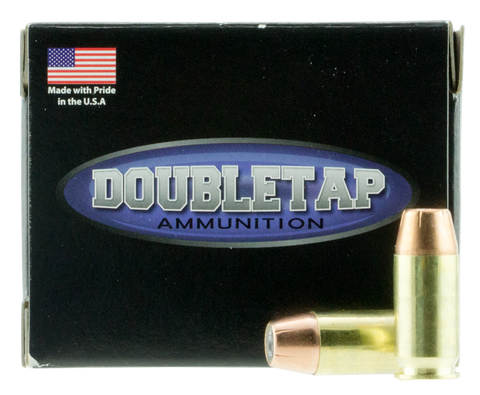 DoubleTap Ammunition 45A230CE DT 45 Automatic Colt Pistol (ACP) 230 GR Jacketed Hollow Point 20 Bx/ 50 Cs