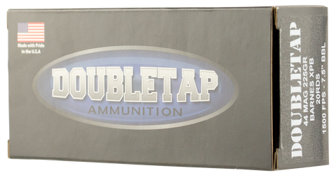 DoubleTap Ammunition 44M225X DT Hunter 44 Remington Magnum 225 GR Barnes XPB 20 Bx/ 25 Cs