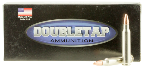 DoubleTap Ammunition 223R55X DT Tactical 223 Remington/5.56 NATO 55 GR Barnes TSX 20 Bx/ 50 Cs