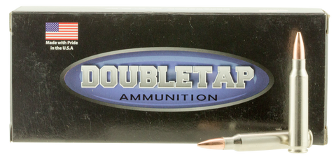 DoubleTap Ammunition 223R69HP DT Longrange 223 Remington/5.56 NATO 69 GR Hollow Point Boat Tail 20 Bx/ 50 Cs