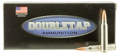 DoubleTap Ammunition 223R77HP DT Longrange 223 Remington/5.56 NATO 77 GR Hollow Point Boat Tail 20 Bx/ 50 Cs