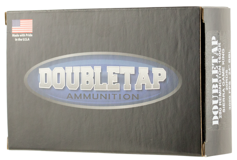 DoubleTap Ammunition 280R160GK DT Longrange 280 Remington 160 GR Sierra GameKing 20 Bx/ 25 Cs