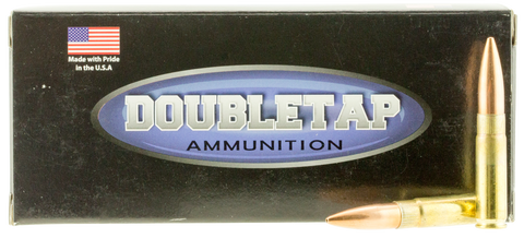 DoubleTap Ammunition 300BK240MK DT Tactical 300 AAC Blackout/Whisper (7.62X35mm) 240 GR Sierra MatchKing 20 Bx/ 50 Cs