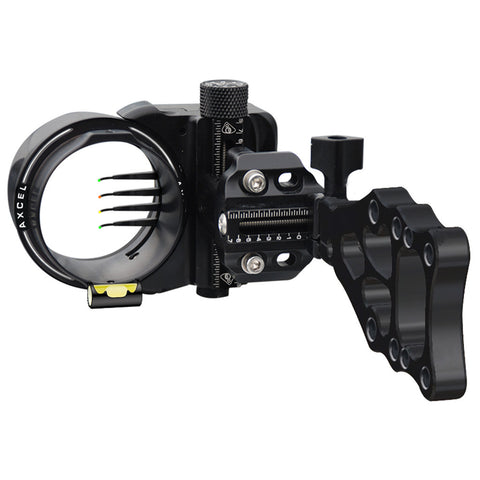 Axcel Armortech Sight Black 4 Pin .019 RH/LH