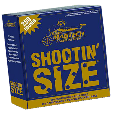 Magtech MP357A Sport Shooting 357 Mag 158 GR Semi-Jacketed Soft Point 250 Bx/ 4 Cs
