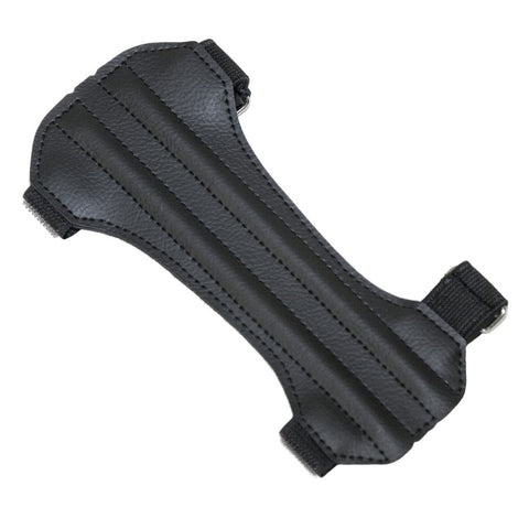 October Mountain Arm Guard 2 Strap Hunter Black