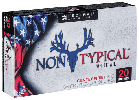 Federal 65CDT140 Non-Typical 6.5 Creedmoor 140 GR Soft Point 20 Bx/ 10 Cs