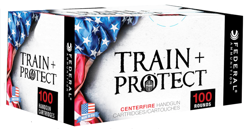 Federal TP40VHP2 Train and Protect 40 Smith & Wesson (S&W) 180 GR Verstile Hollow Point (VHP) 100 Bx/ 5 Cs - 100 Rounds