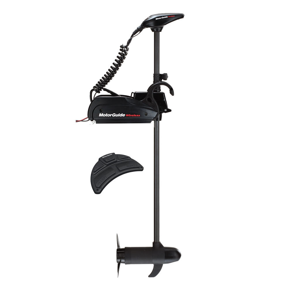 MotorGuide Wireless W55 Freshwater Bow Mount Trolling Motor - Wireless Foot Pedal - 12v-55lb-54""