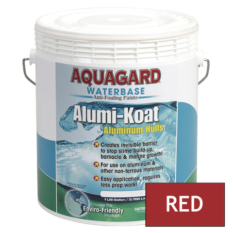 Aquagard II Alumi-Koat Anti-Fouling Waterbased - 1Gal - Red