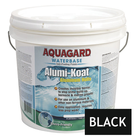 Aquagard II Alumi-Koat Anti-Fouling Waterbased - 2Gal - Black