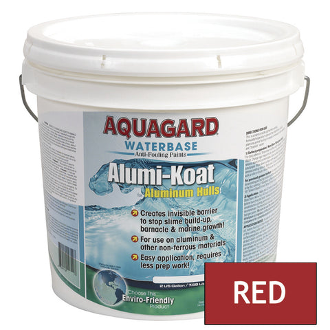 Aquagard II Alumi-Koat Anti-Fouling Waterbased - 2Gal - Red