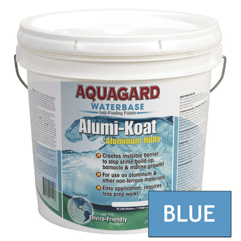 Aquagard II Alumi-Koat Anti-Fouling Waterbased - 2Gal - Blue