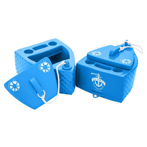 TRC Recreation Super-Soft Floating Cooler - Bahama Blue