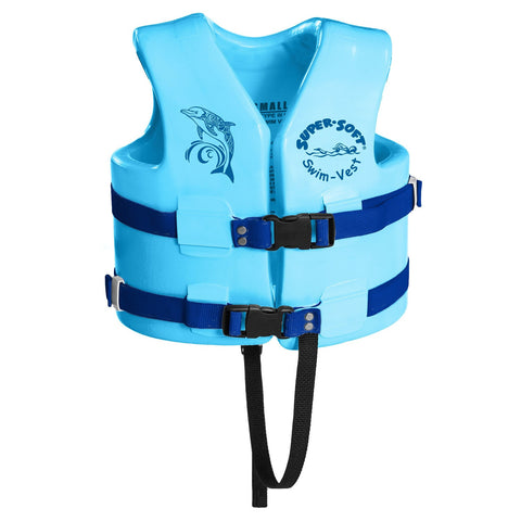 TRC Recreation Super-Soft USCG Childs Vest XS - Marina Blue
