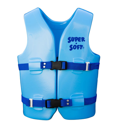 TRC Recreation Super-Soft USCG Childs Vest M - Marina Blue