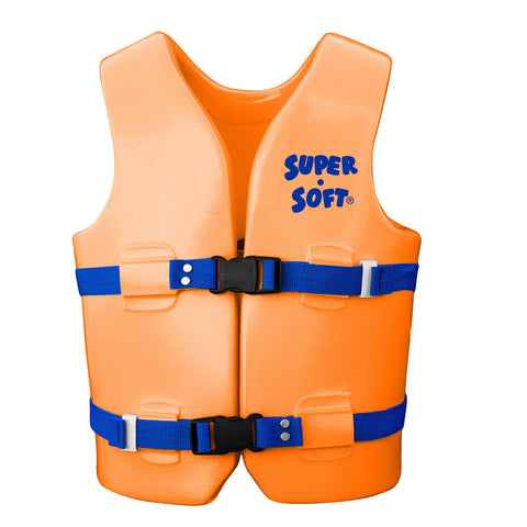 TRC Recreation Super-Soft USCG Child Vest M-Orange Breeze