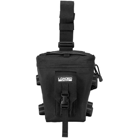 Barska Loaded Gear CX-300 Drop Leg Dump Pouch-Black