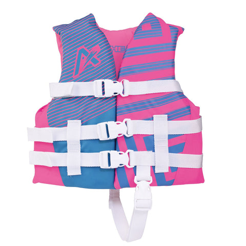 Airhead Trend Girls Closed Side Life Vest-Child-Pink