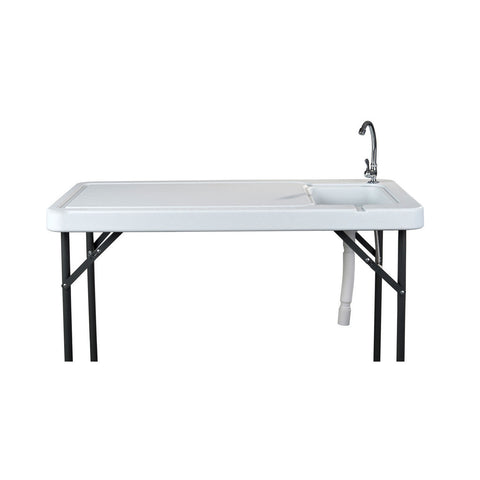 Organized Fishing Fillet Table w/ Sink