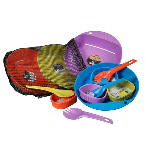 Wildo Eat and Drink - 4 Person Set - Camping/Outdoor