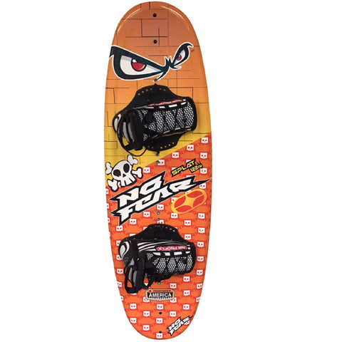 Nash No-Fear Splat Wakeboard w/ Jr. Chaser Bindings