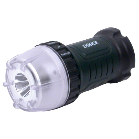 Dorcy LED Dial-A-Light 45 Lumen Floating Flashlight