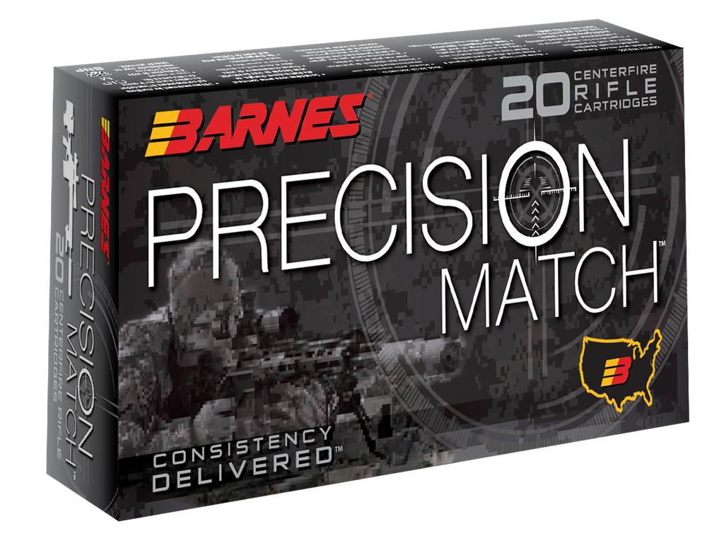 Barnes Bullets 30742 Precision Match 260 Remington 140 GR Open Tip Match BT 20 Bx/ 10 Cs