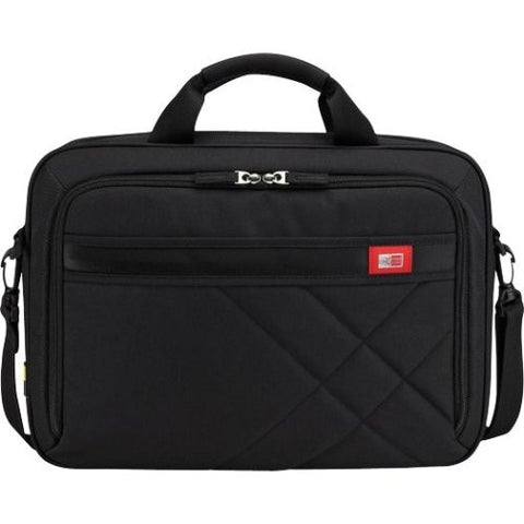 "Case Logic - 15.6"" Laptop and Tablet Case - Black"