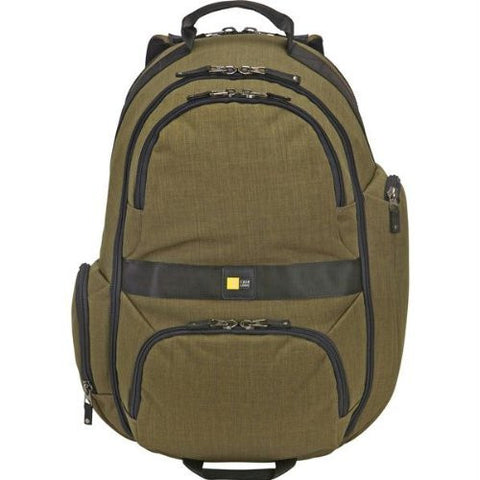 Case Logic - Berkeley Deluxe 15.6-Inch Laptop and Tablet Backpack (Woodland)