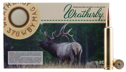 Weatherby B303165TSX 30-378 Weatherby Magnum 165 GR Barnes TSX 20 Bx/ 1 Cs