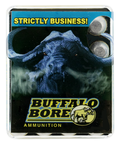 Buffalo Bore Ammunition 35D/20 460 Rowland 255 GR Hard Cast Flat Nose 20 Bx/ 12 Cs