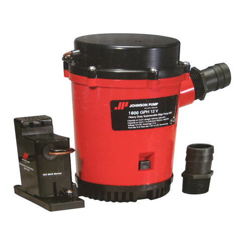 Johnson Pump 1600GPH Auto Bilge Pump w/Mag Switch - 12V
