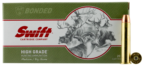 Swift 10043 Medium/Big Game A-Frame 300 Winchester Magnum 180 GR Semi Spitzer 20 Bx/ 10 Cs