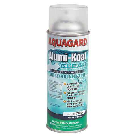 Aquagard II Alumi-Koat Spray f/Outboards & Outdrives - 12oz - Clear